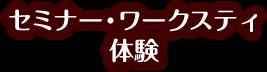 セミナー・ワークステイ体験